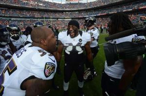 Ray Lewis et les Ravens en finale de l'AFC