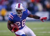 9. C.J Spiller (Buffalo Bills) : 207 courses - 1244 yards (77.8/match) - 6 yds/course - 6 TD