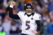 9. Joe Flacco (Baltimore Ravens) : 317/531 (59.7%) - 3817 yards(238.6/match) - 22 TD - 10 INT - 87.7 rating