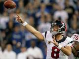 8. Matt Schaub (Houston Texans) : 350/544 (64.3%) - 4008 yards (250.5/match) - 22 TD - 12 INT - 90.7 rating
