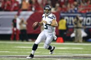7. Russell Wilson (Seattle Seahawks) : 252/393 (64.1%) - 3118 yards (194.9/match) - 26 TD - 10 INT - 100 rating