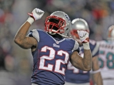 7. Stevan Ridley (New England Patriots) : 290 courses - 1263 yards (78.9/match) - 4.4 yds/course - 12 TD