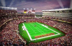 Le futur stade des 49ers, le Levi's Stadium