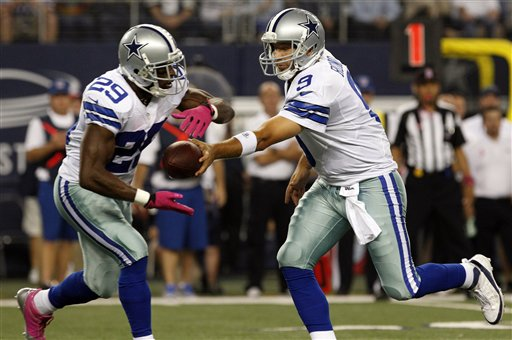 Tony Romo et DeMarco Murray