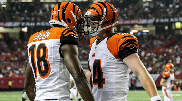 Andy Dalton et AJ Green
