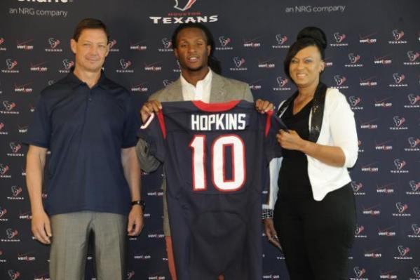 DeAndre Hopkins, prêt à briller à Houston