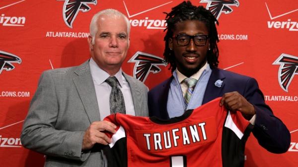Le cornerback Desmond Trufant, drafté au 1er tour par les Falcons