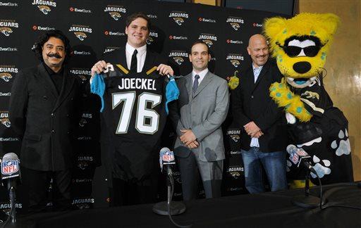 Luke Joeckel, numéro 2 de la Draft et future star des Jaguars ?