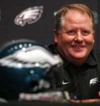 Chip Kelly, nouveau coach des Eagles