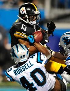0 pointé pour les Steelers, battus par Carolina