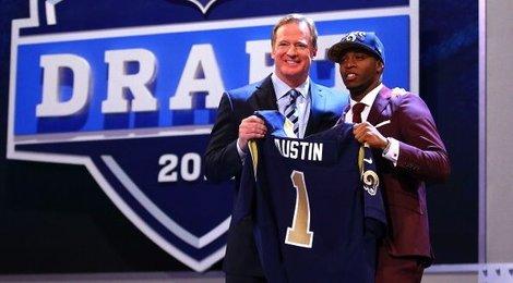 Tavon Austin, 8ème choix de la Draft 2013, et futur star des Rams