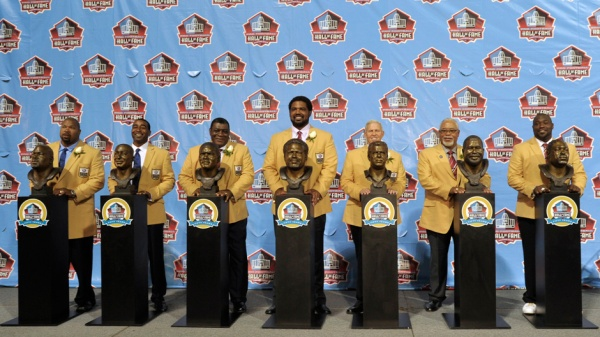 La classe 2013 du Pro Football Hall of Fame