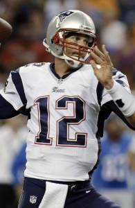 Brady a été malmené par la défense des Lions