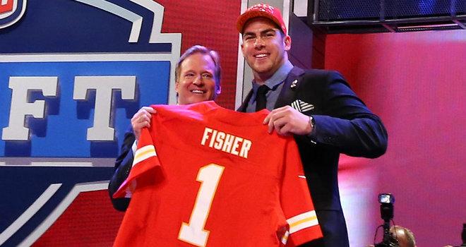 Eric Fisher, numéro 1 de la Draft 2013