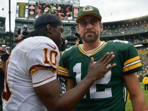 Rodgers et les Packers surclassent RGIII et les Redskins