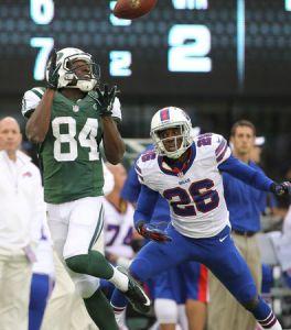 Le retour de Santonio Holmes a fait du bien aux Jets