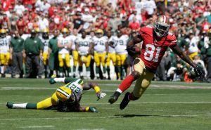 Anquan Boldin, époustouflant contre les Packers pour son 1er match avec les 49ers