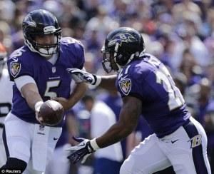 1ère victoire de la saison pour les Ravens