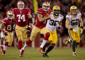 Kaepernick avait pulvérisé la défense des Packers en playoffs