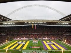 Grosse ambiance à Londres pour le match entre les Vikings et les Steelers