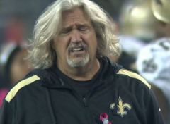 Rob Ryan, dépité après le touchdown décisif de Tom Brady