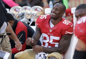 180 yards, record personnel pour Vernon Davis