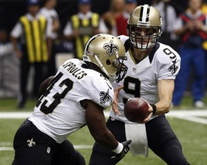 Drew Brees et Darren Sproles