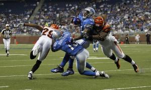 Beau duel entre les Lions et les Bengals