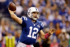 Andrew Luck a pris le dessus sur Peyton Manning ce week-end