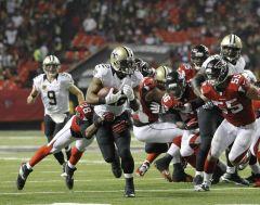 Les Saints remportent leurs deux matchs de la saison face aux Falcons