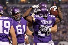 A.P et les Vikings ont profité des problèmes défensifs des Redskins