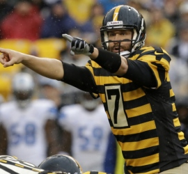 Gros match pour Big Ben qui mène Pittsburgh à la victoire face à Detroit