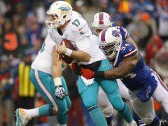 La défense des Bills est leader de la NFL avec 56 sacks