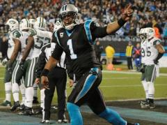 Cam Newton et les Panthers relancent la NFC South