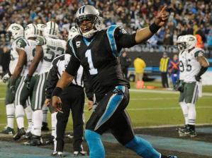 Cam Newton et les Panthers relancent la NFC South