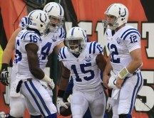 Titre de division AFC South pour les Colts