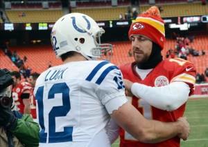 Andrew Luck et les Colts s'offrent les Chiefs d'Alex Smith