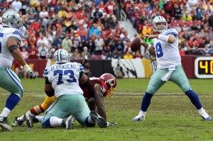 Victoire obtenue dans la douleur pour Romo et les Cowboys