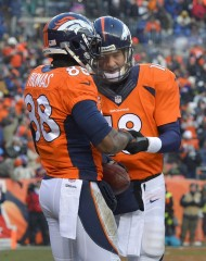 Peyton Manning et D. Thomas (photo : knoxnews)