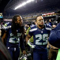 Richard Sherman et Earl Thomas (photo : bleacherreport)