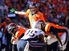 Peyton Manning face aux Patriots (photo : usa today)