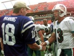 Peyton Manning et Dan Marino