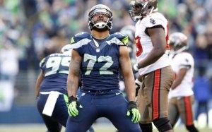 Michael Bennett (Seahawks) photo : CBS