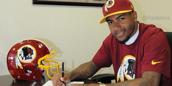 DeSean Jackson signe avec les Redskins (photo : elitedaily