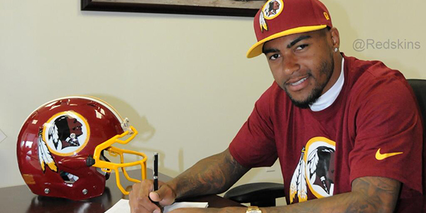 DeSean Jackson signe avec les Redskins (photo : elitedaily