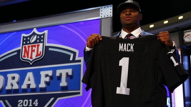 Khalil Mack, 5è choix de la Draft 2014 et future star d'Oakland ?