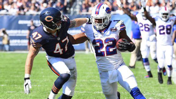 Fred Jackson, décisif lors de la victoire des Bills sur les Bears
