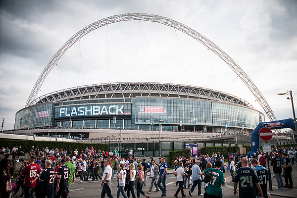 Wembley aux couleurs de la NFL (Thomas Savoja, Magazine 4th&Goal)