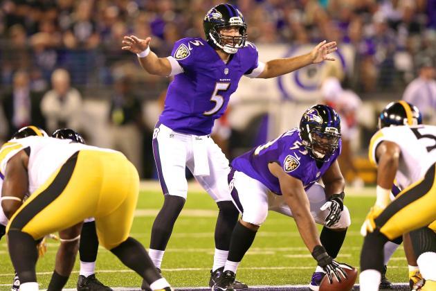 Belle réaction de Joe Flacco et des Ravens