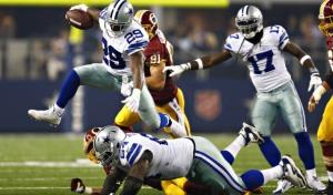 DeMarco Murray bat des records et les Cowboys surpassent les pronostics (CBS)